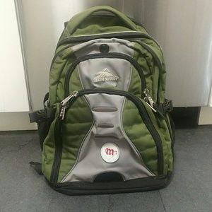 High Sierra Swerve Backpack Laptop Swerve